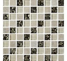 Мозаика МКС 2028 30*30 стекло Роскошная мозаика
