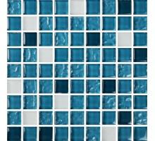 Мозаика МС 2082 30*30 стекло Роскошная мозаика