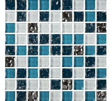 Мозаика МС 2083 30*30 стекло Роскошная мозаика