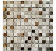 мозаика Amsterdam (POL) металл+камень 305*305*4 BONAPARTE