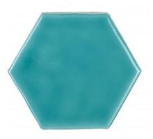 Art Deco Glossy on Mesh Aqua Marine 7,9*9,1 плитка настенная AMADIS
