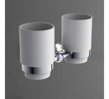 ANTIC CRYSTAL Два стакана хром AM-2688SJ-Cr ART&MAX