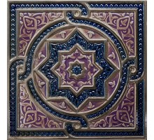 Composicion Tripoli Cobalto 30*30 декор ABSOLUTE KERAMIKA