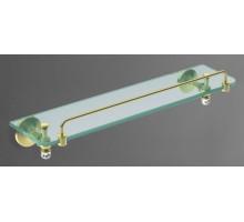 ANTIC CRYSTAL Полка стеклянная золото AM-2682SJ-Do ART&MAX