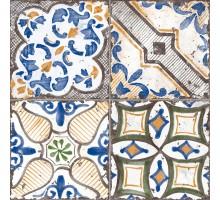 Materia Decoro Vietri Mix 15*15 декор напольный NOVABELL