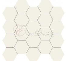 ALL IN WHITE white 30,6*28,2 мозаика TUBADZIN