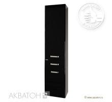 АМЕРИНА шкаф-колонна черная 1A135203AM950 АКВАТОН