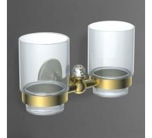 ANTIC CRYSTAL Два стакана золото AM-2688SJ-Do ART&MAX