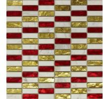 EQUILIBRIO 013С 300*300 мозаика стекло+камень ART&NATURA