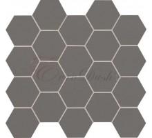 ALL IN WHITE grey 30,6*28,2 мозаика TUBADZIN