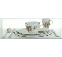 Decor Tea 03 White B 10*30 декор ABSOLUTE KERAMIKA
