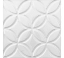 ADNE 4125 Relieve Botanical Blanco Z 15*15 декор ADEX