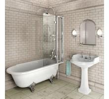 Шторка на ванну C10 2-секционная 85*145 BURLINGTON