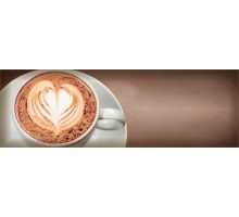 Decor Coffee Capuccino Marron A 10*30 декор ABSOLUTE KERAMIKA