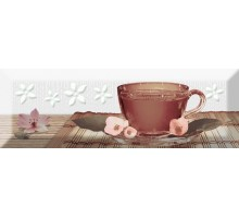 Decor Tea 02 A Fosker 10*30 декор ABSOLUTE KERAMIKA