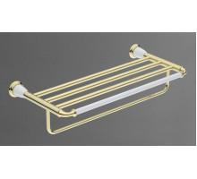 BIANCHI Полка для полотенец золото AM-3622AW-Do ART&MAX
