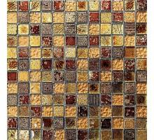 мозаика Antik-2 стекло+керамика 300*300*8 BONAPARTE