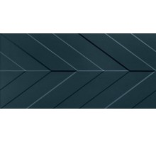 4D Chevron Deep Blue Matt Rett 40*80 плитка настенная MARCA CORONA