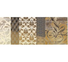Batik Oro Dec.A 24*59 декор IMPRONTA ITALGRANITI