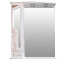 БАРСЕЛОНА 175 Шкаф зеркальный rame (белое дерево медь) ATOLL
