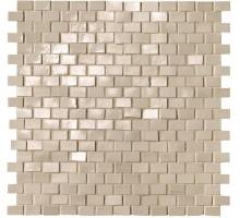 Brickell Beige Brick Mos.Gloss 30*30 мозаика FAP