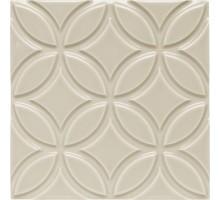 ADNE 4135 Relieve Botanical Sierra Sand 15*15 декор ADEX
