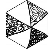 COMIC Hexa 23,2*26,7 керамогранит ITT CERAMIC