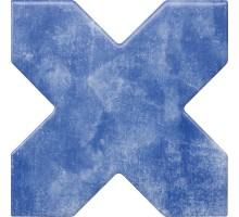 BECOLORS CROSS ELECTRIC BLUE 13,25*13,25 плитка универсальная CEVICA