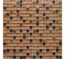 Мозаика BXGS091A стекло+камень 300*300*8 (6) KERAMOGRAD