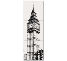Big Ben 1 59,8*179,8 панно из 6 шт. TUBADZIN-MACIEJ ZIEN