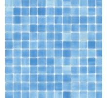 Мозаика AZUL CELESTEN стекло на бумаге 300*300*4 KERAMOGRAD