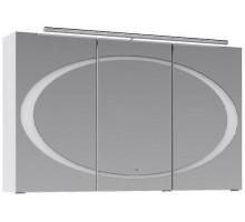 Dune 100 шкаф-зеркало с подсветкой, белый Aqwella Clarberg