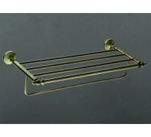 ANTIC Полка для полотенец бронза AM-2622Q ART&MAX