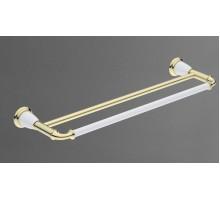 BIANCHI Двойной полотенцедержатель золото AM-3648AW-Do ART&MAX