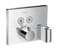 15765000 Термостат ShowerSelect на 2 пользователя с шланговым подсоединением, наружная часть HANSGROHE