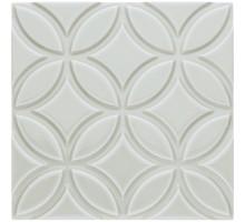 ADNE 4136 Relieve Botanical Silver Mist 15*15 декор ADEX