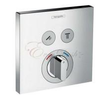 15768000 Смеситель ShowerSelect, наружная часть, 2 пользователя HANSGROHE