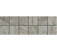 Alpi Grigio Fascia Mosaico АЛЬПЫ серый бордюр 10*30 COLISEUMGRES