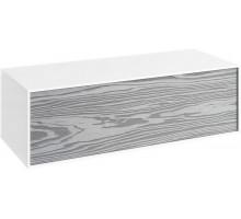 Genesis 100 тумба подвесная, миллениум серый AQWELLA