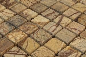 Мозаика из мрамора и камня
