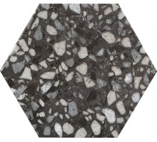 Six Terazzo BLACK 23*27 керамогранит DURSTONE
