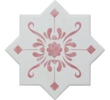 BECOLORS STAR DEC. STENCIL CORAL 13,25*13,25 плитка универсальная CEVICA