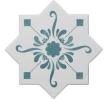 BECOLORS STAR DEC. STENCIL LAGOON 13,25*13,25 плитка универсальная CEVICA