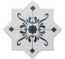 BECOLORS STAR DEC. STENCIL NAVY 13,25*13,25 плитка универсальная CEVICA